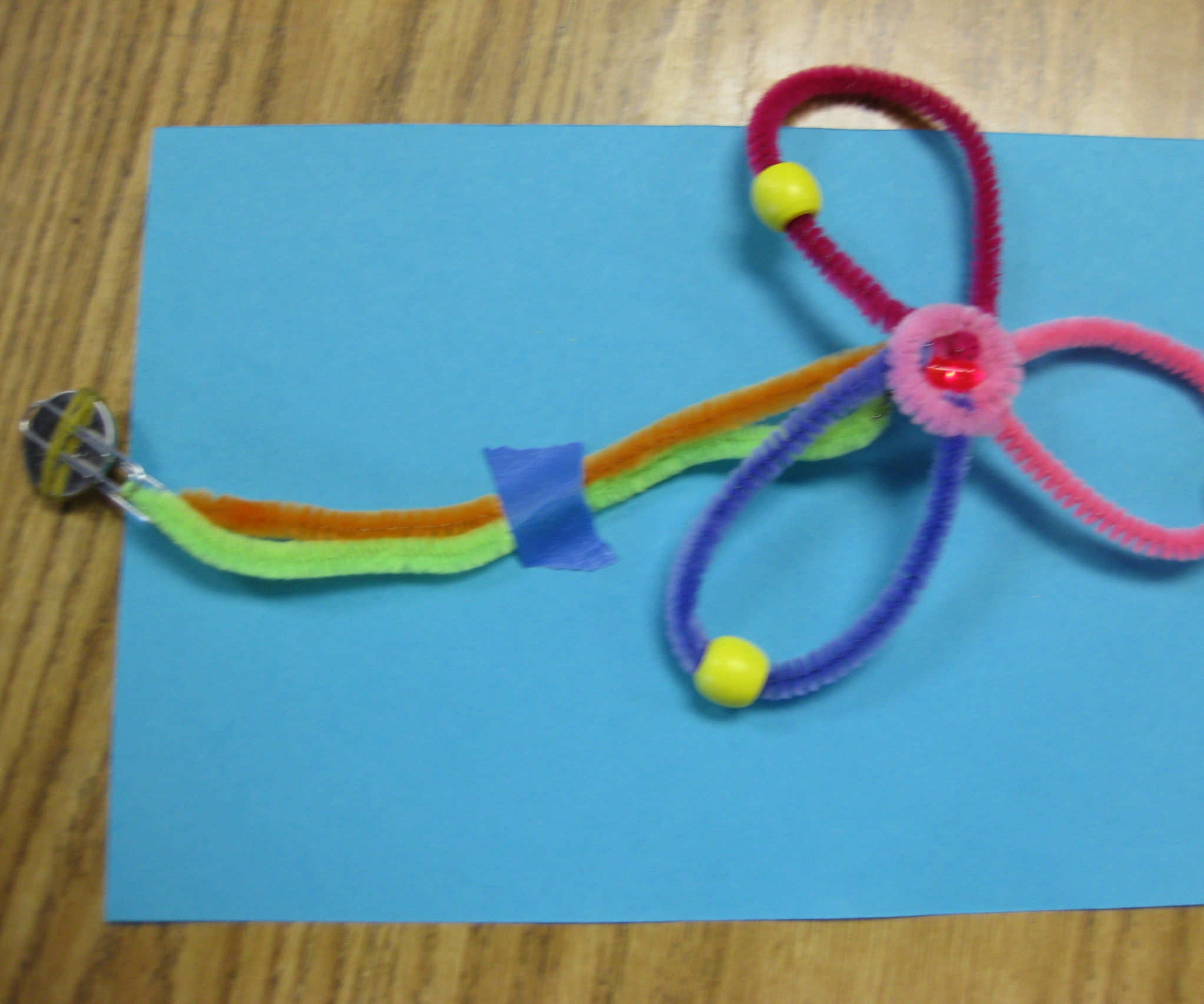 Pipe Cleaner Circuitry