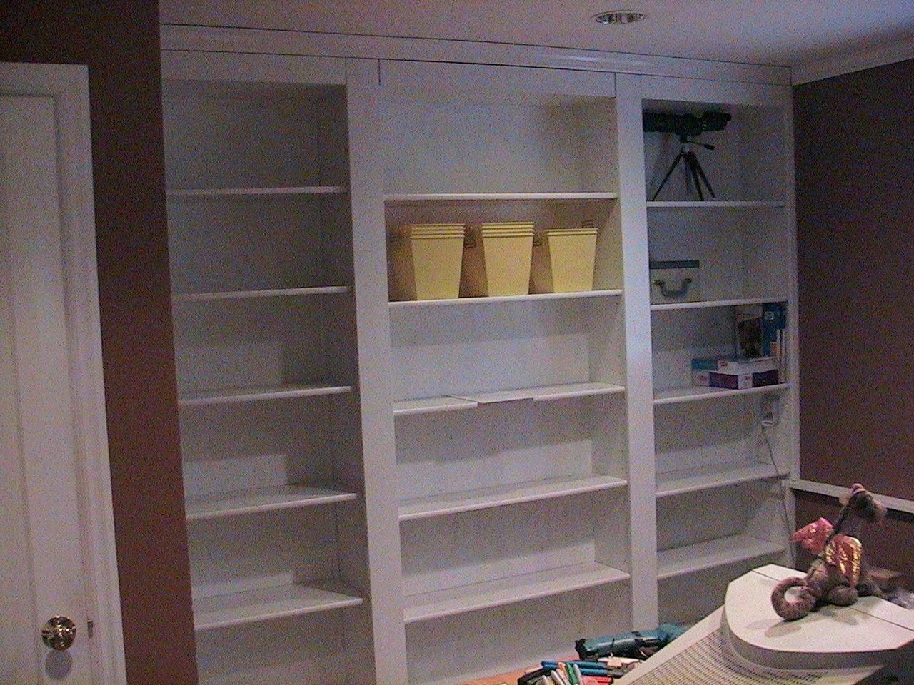 Hidden Door Bookshelf