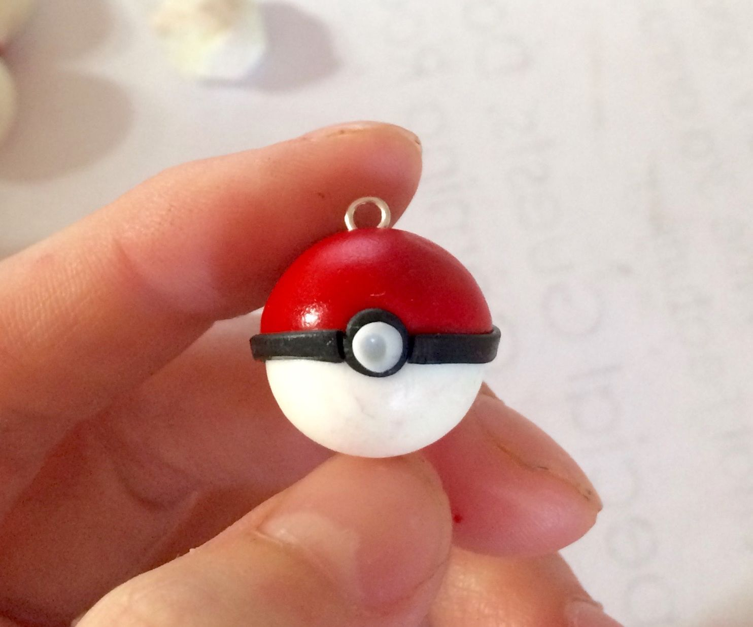 D.I.Y Pokeball Jewelry or Prop