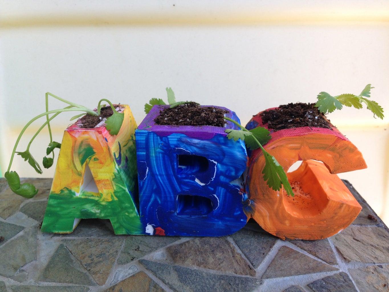 3D Printed ABC Planter
