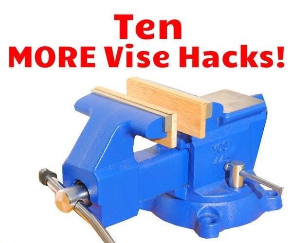 10 MORE Bench Vise Tips, Tricks, & Hacks (Part 2)