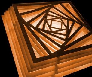 BlockCode Paper Lamp