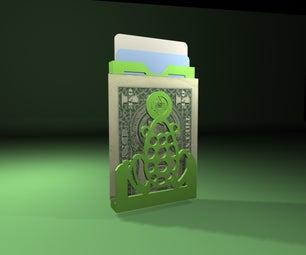 """Fortune Frog"" Money Clip"