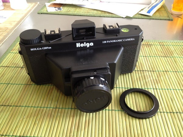 Add a Step-Up Ring (for Filters) to Your Holga!