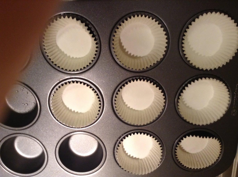 Prepare the Cupcake Pan