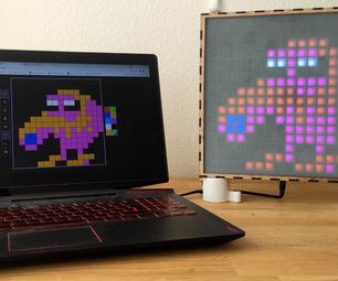 LED-Matrix With Web Server