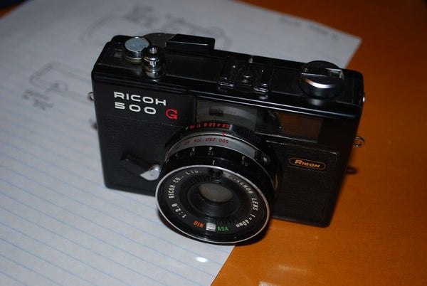 Replace the Light Seals on Ricoh 500-G (Ghetto Style)
