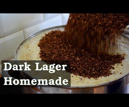 Homemade Dark Lager Beer - Easy and Tasty (no Special Tools Needed)