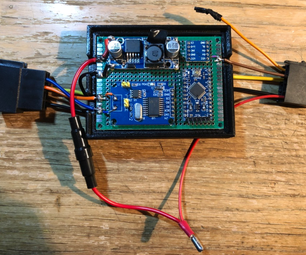 Steering Wheel Keys to Car Stereo Adapter (CAN Bus -> Key1)