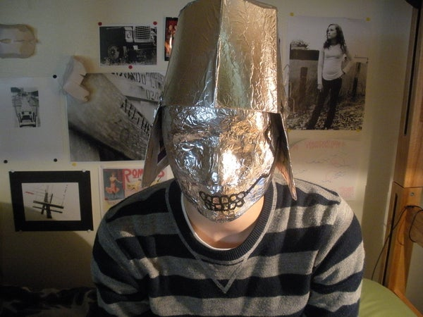 How to Make an Avant-Garde Robot Mask