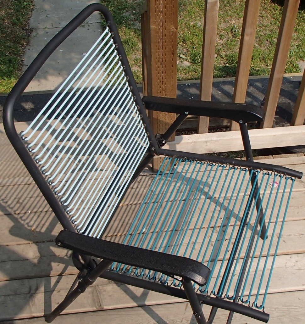 Easy Lawn Chair Webbing Repair With Oven 6 Steps With Pictures Instructables