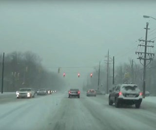How to Drive Safely in a Snowstorm