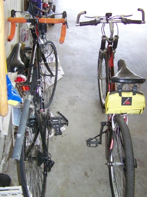 Strategy for Joining Two Bicycles