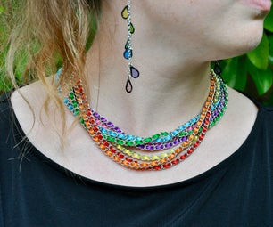 Ribbon Chain Necklace