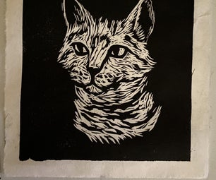 Making a Linocut Print From Start to Finish
