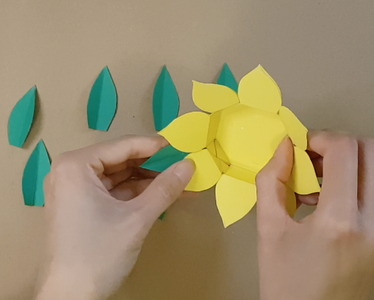 Cut Out the Leaves and Stick