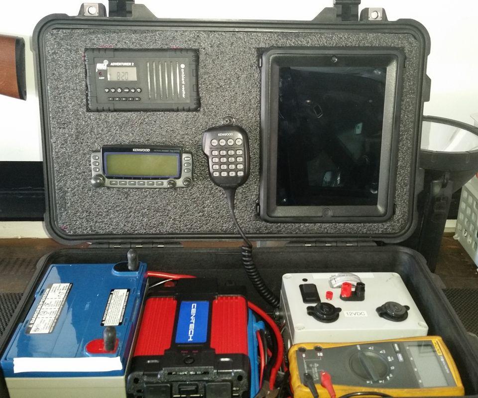 Communication / power box