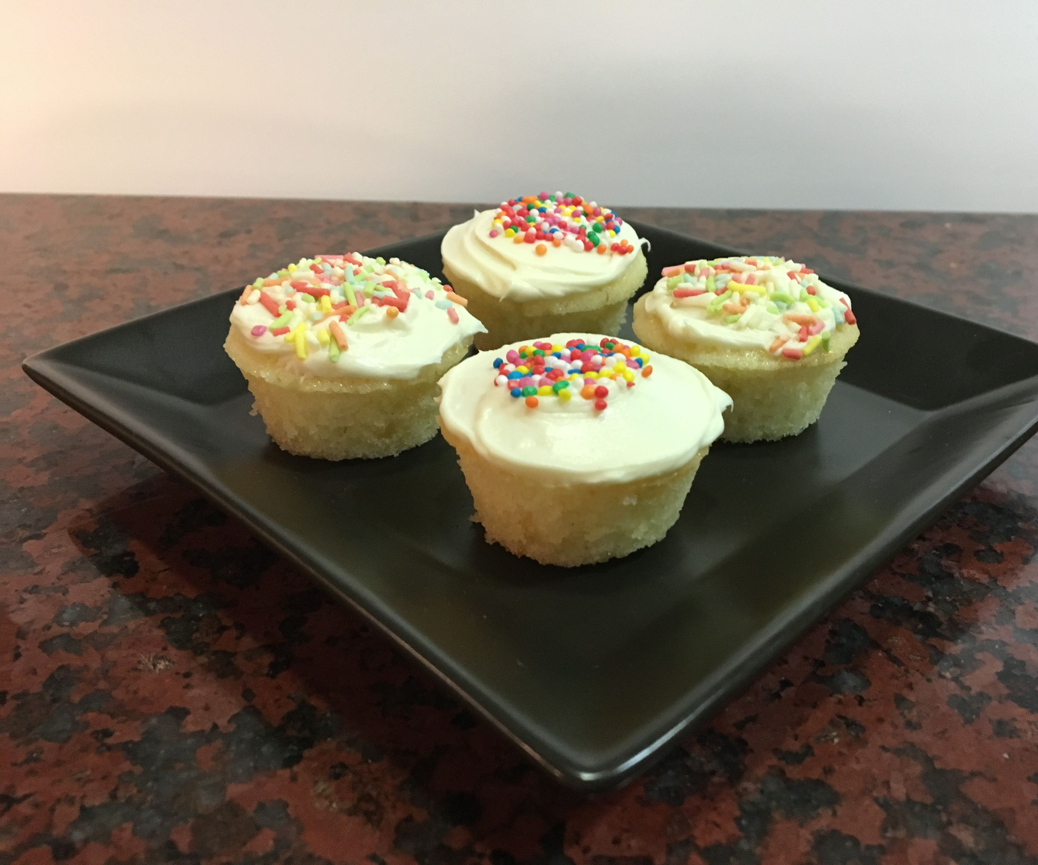 Mini Gluten Free Cupcakes