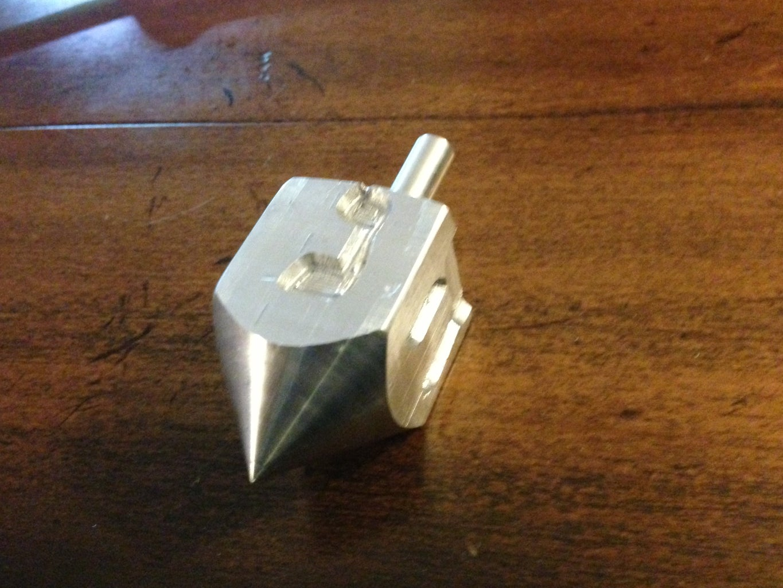 How to Make an Aluminum Dreidel (TechShop Style)