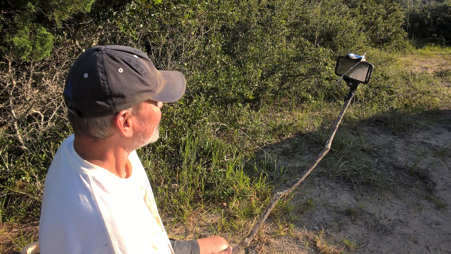 Redneck Selfie Stick