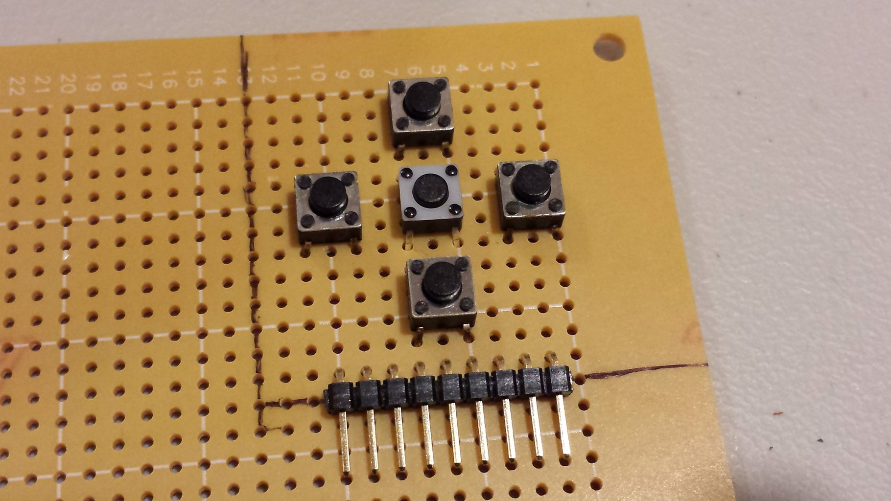 Directional Pad Mini-Shield