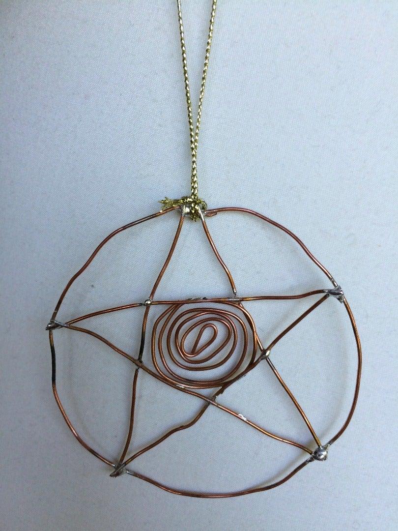 Copper Wire Ornament