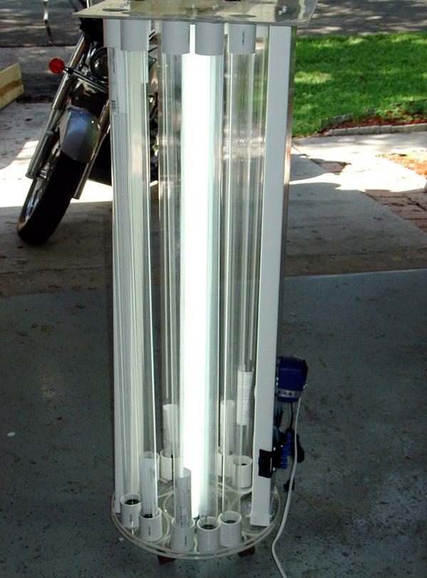 How to Make an Algae Test Photo Bioreactor...Part One