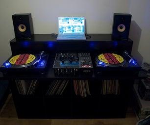 Ultimate Ikea DJ Unit