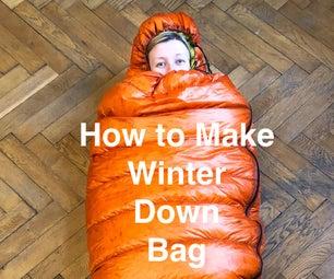 Ultralight Winter Down Bag