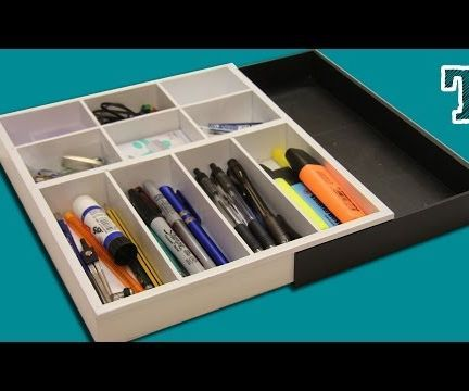 Expanding Desk Draw Dividers (Free Plans)