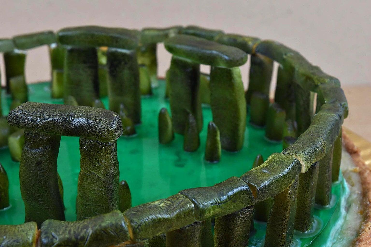 Stonehenge Pastiera PIE 3D