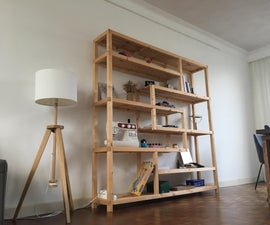 MyFurniture #1 - How To: a (unique) Shelving Unit for My Living Room