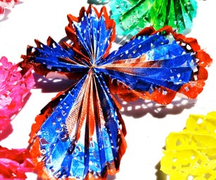 Beautiful Paper Doily Butterfly Mobile