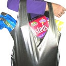 Reusable Shopping Bag Made From a Tank-Top