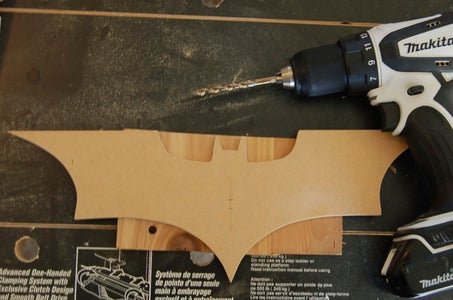 Drill Hole for Clock Mechanism