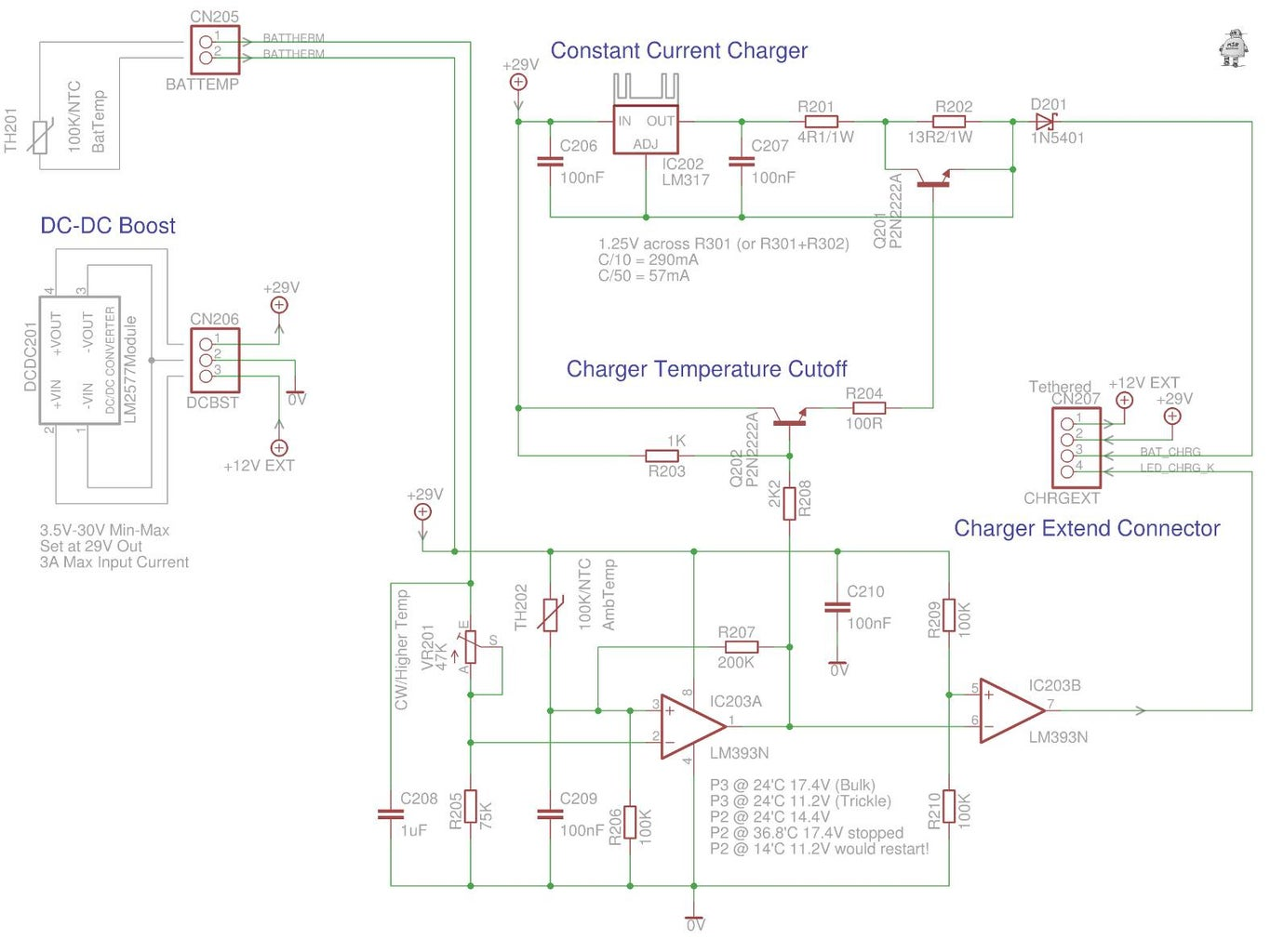DC-DC Boost Charger/Current Limiter