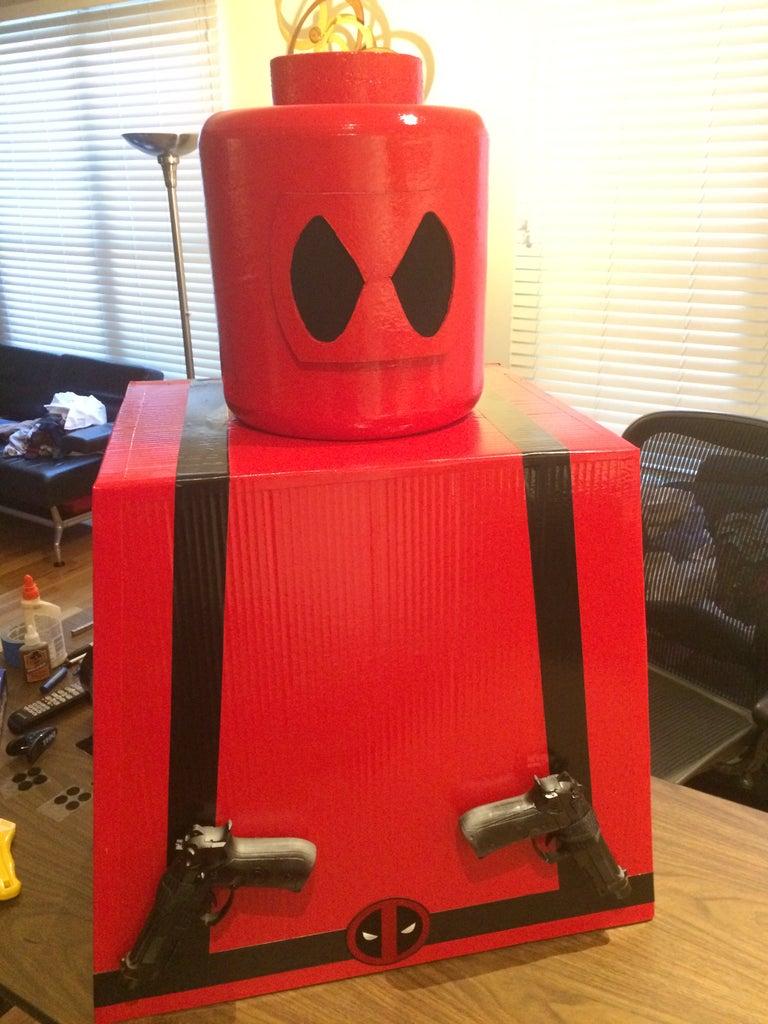 Lego Deadpool Costume