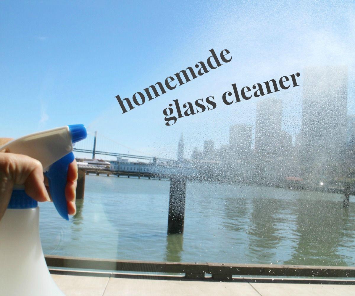 Homemade Glass Cleaner Recipe