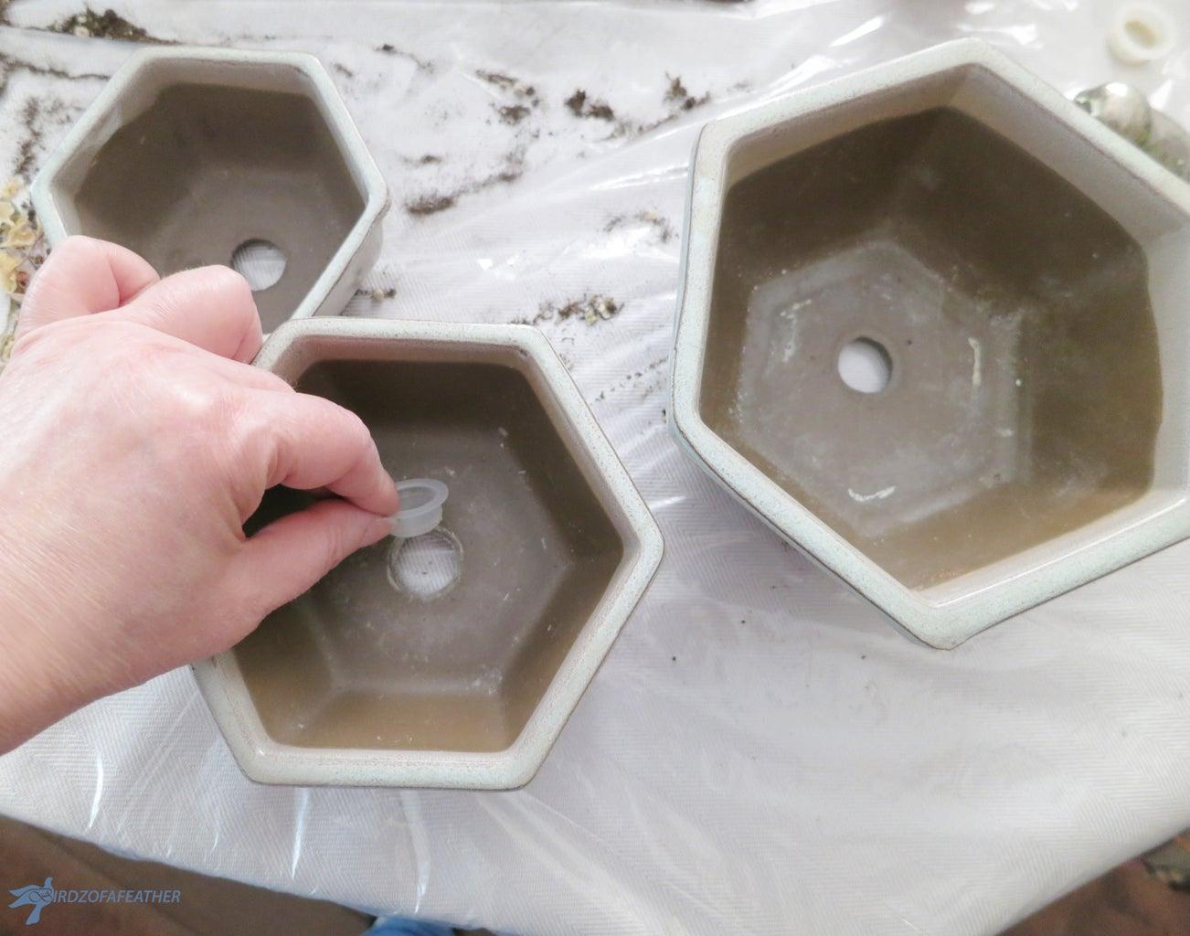 Ensure Planters Have Holes!