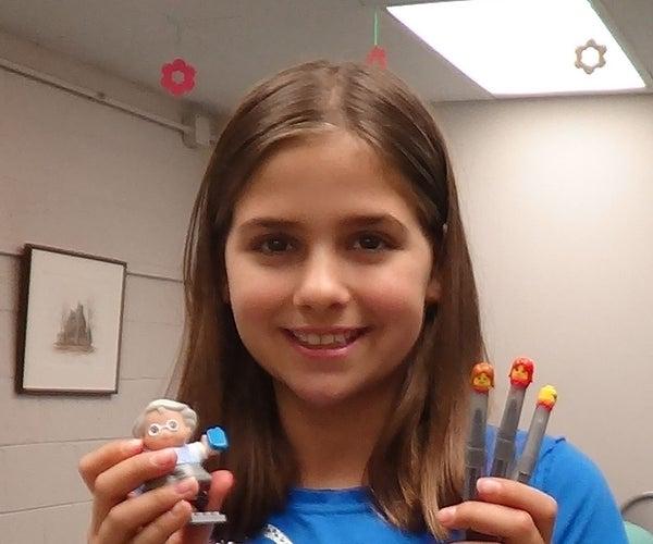 Sugru LEGO Pen Toppers