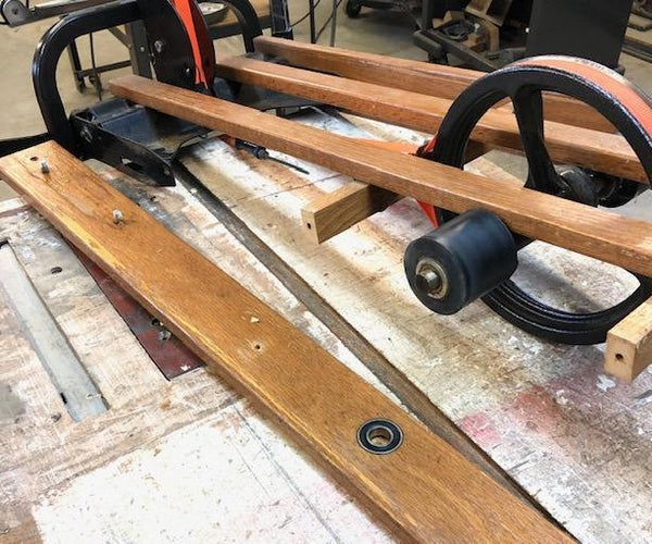 Refurbishing Drive Rollers for a NordicTrack Ski Machine
