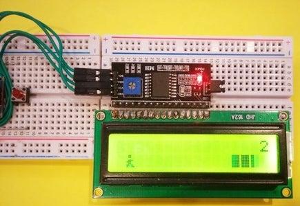 RUN & JUMP Arduino Game Using LCD