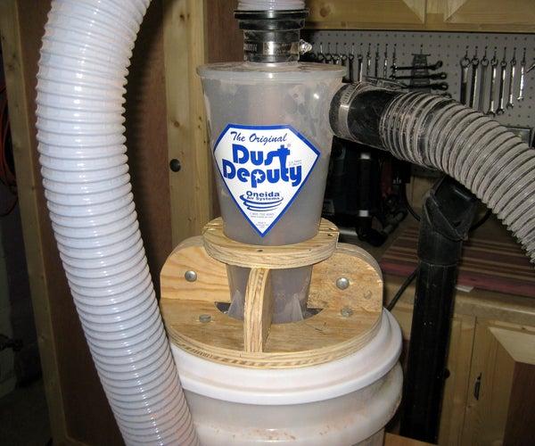 Dust Deputy Cyclone Shop Improvement