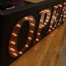 Marquee Letter Open Sign