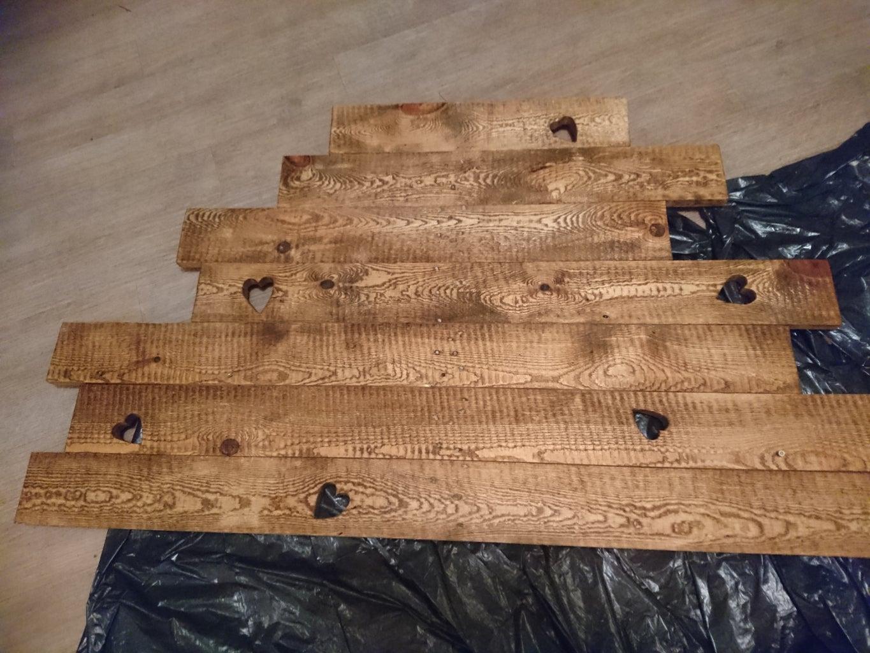 Stain Backboard
