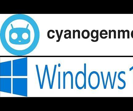 Multiboot Cyanogen and Windows