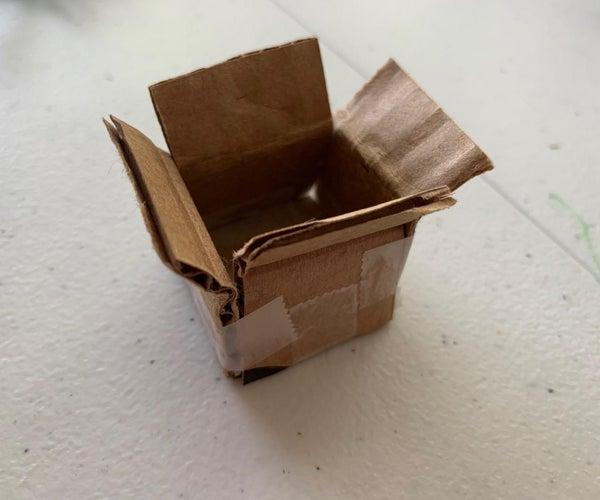 Mini Cardboard Shipping Box