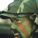 How put on camoflauge face paint