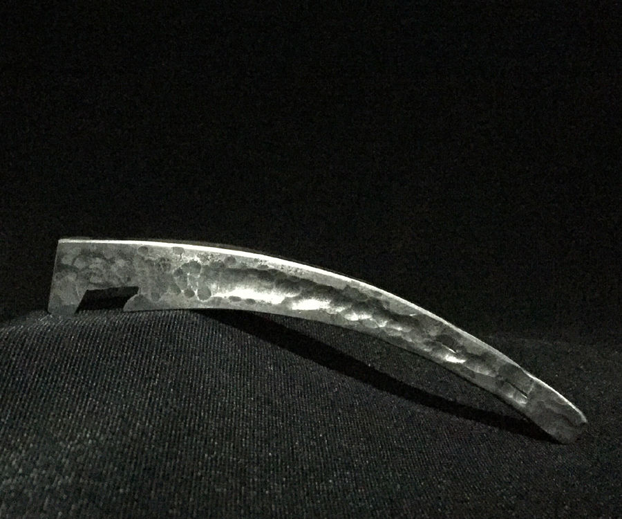 Forged Bottle Opener From Bar Clamp