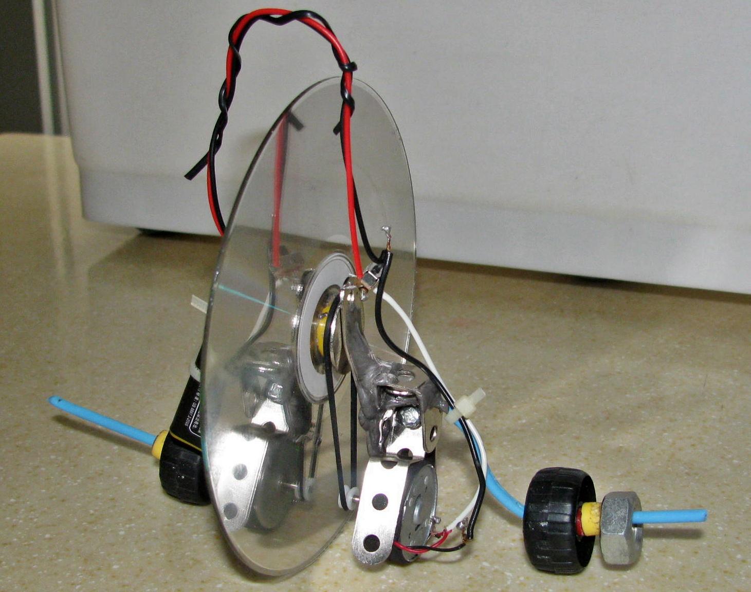 Motorized Uniwheel Toy Thing (Mutt)